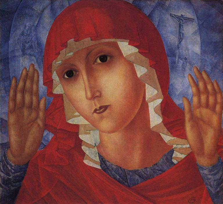 «Богоматерь Умиление злых сердец», 1914-1915