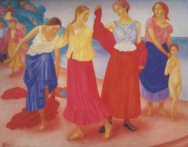 «Девушки на Волге», 1915