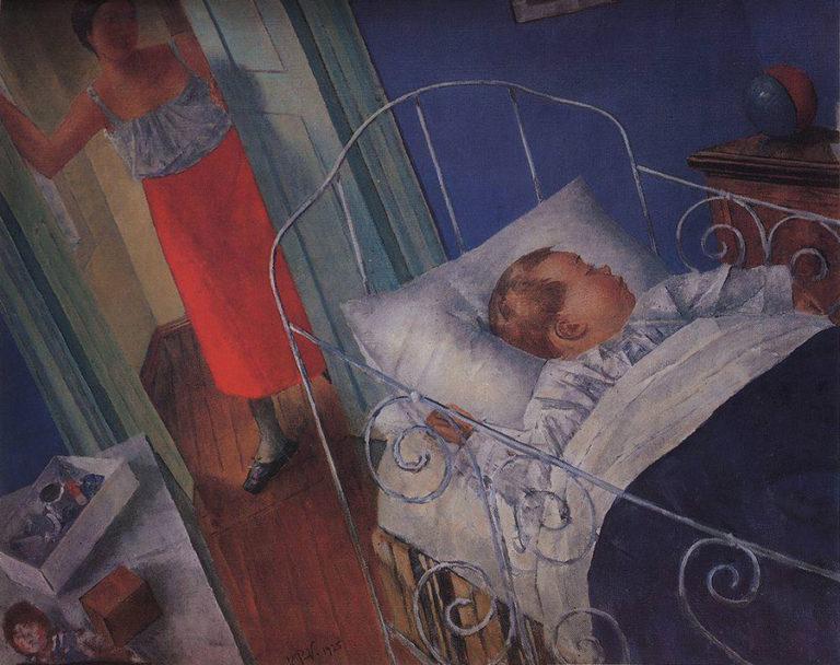 «В детской», 1925