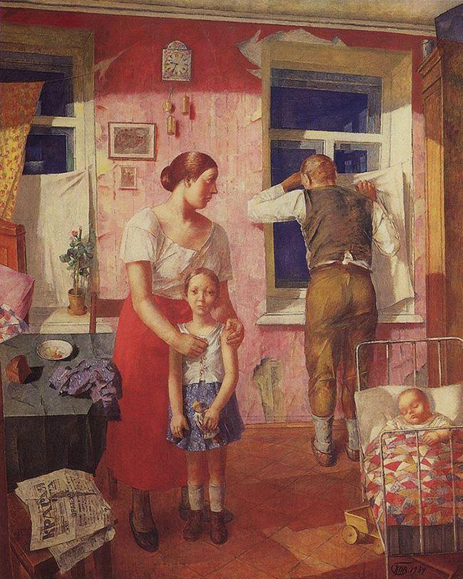 «1919 год. Тревога», 1934