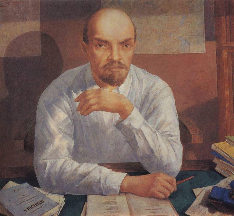 «Портрет В. И. Ленина», 1934