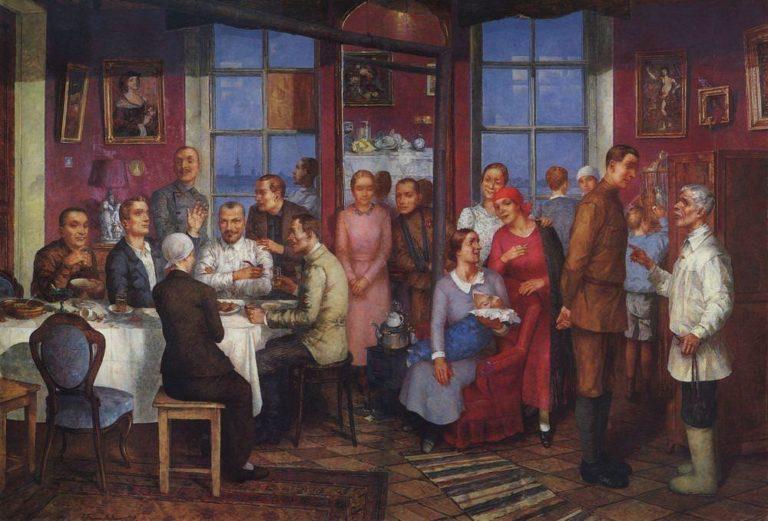 «Новоселье (Рабочий Петроград)», 1937